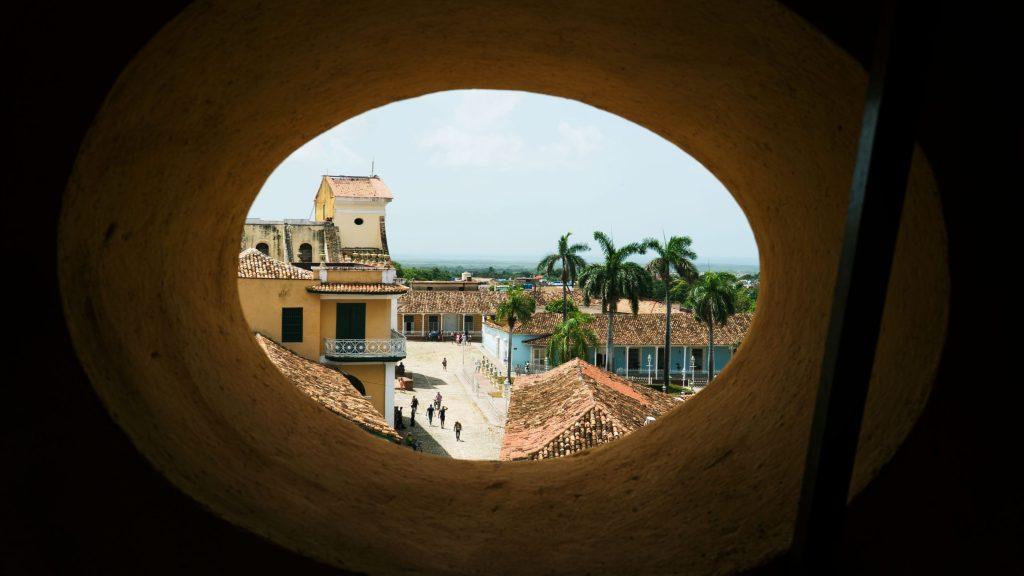 la vue depuis le musée des bandits