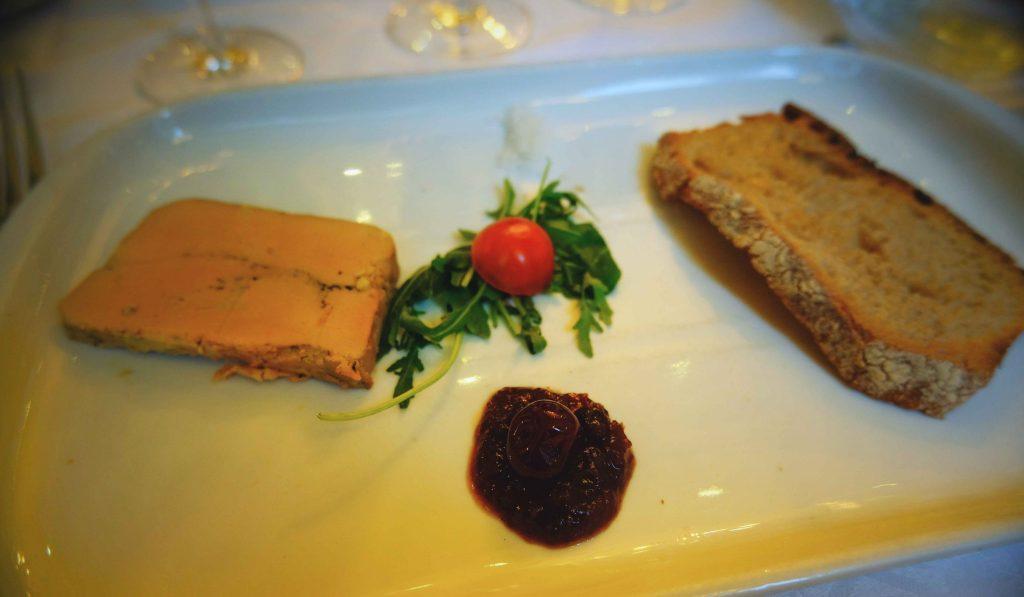 foie gras noces de jeannette