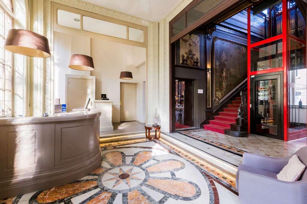 entrée best western urban hotel & spa lille