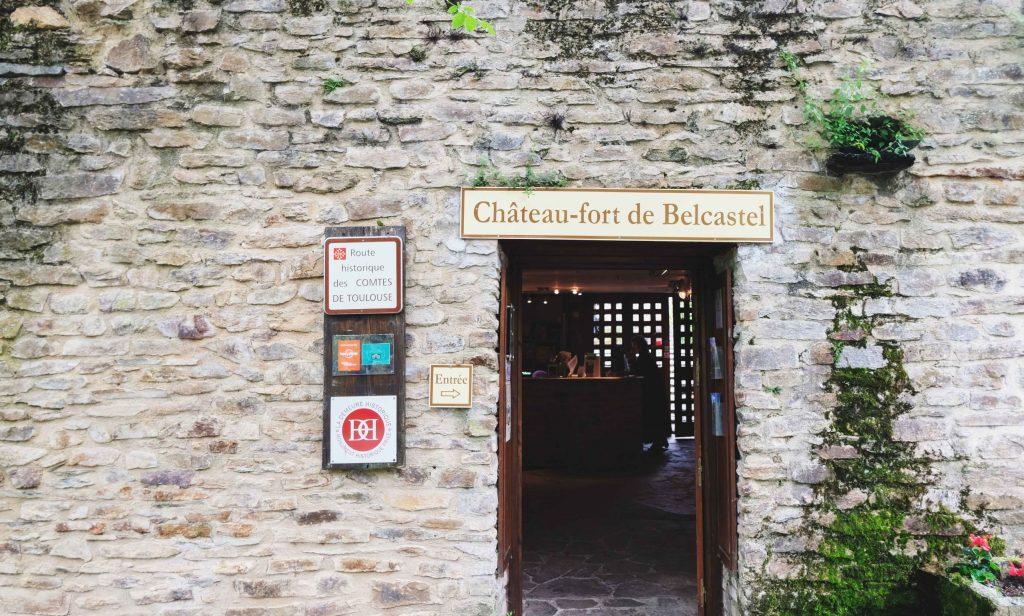 entrée de la visite du chateau