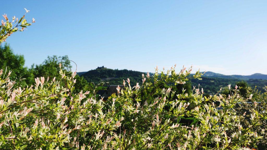 la vue depuis la villa Lot