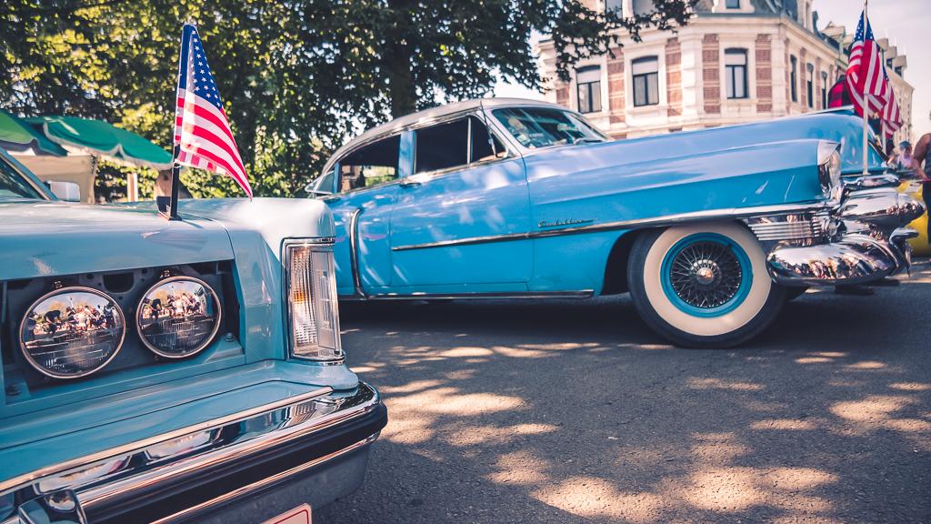 voitures au festival béthune rétro