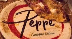 Peppe pizza assiette