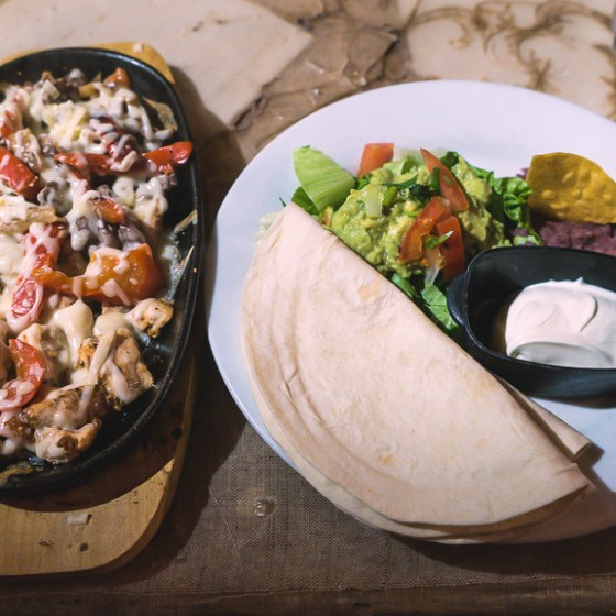 restaurant fajitas à paris