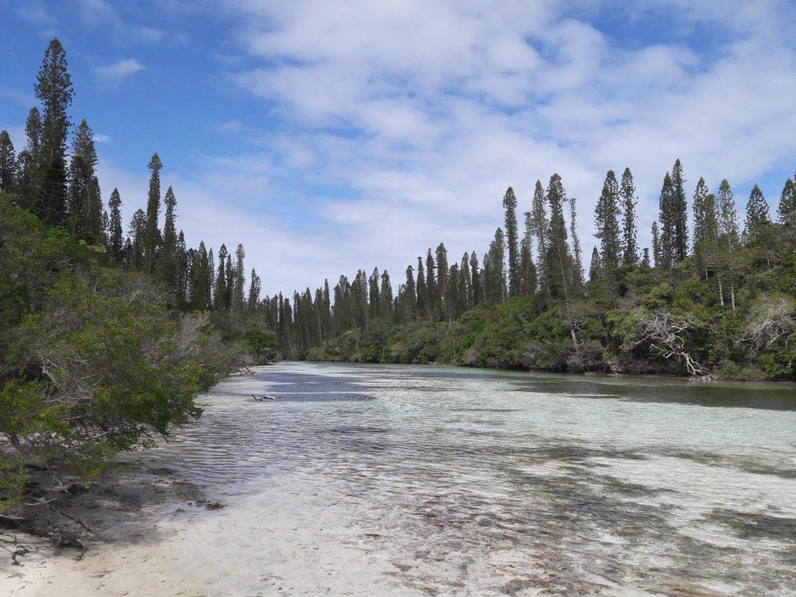 la piscine naturelle de l'ile des pins en nouvelle calédonie