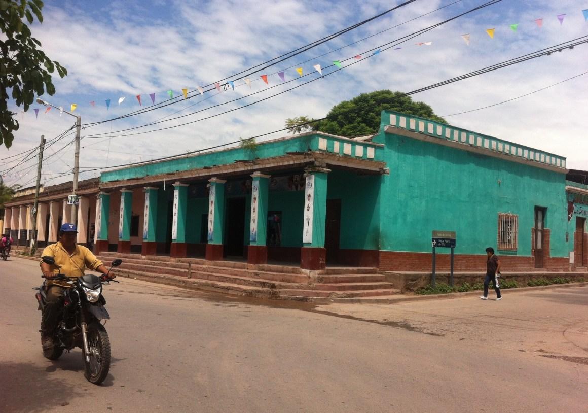 Une ville en Amérique du sud