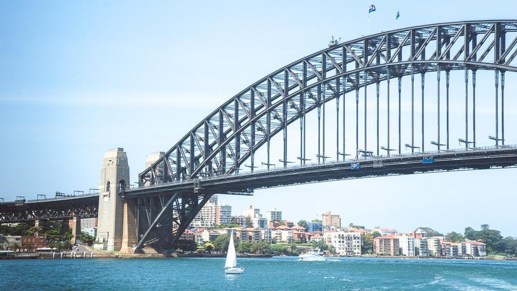 vue du pont de Sydney