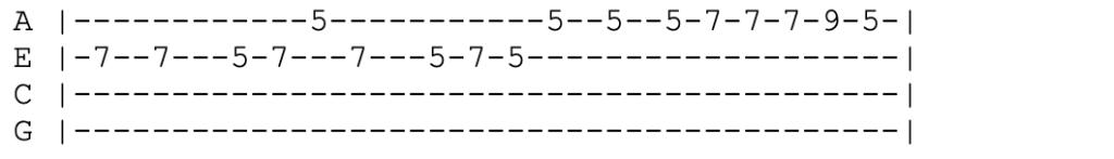 avicii wake me up ukulele tabs riff
