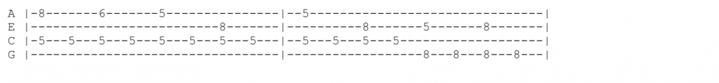 vampire weekend ukulele tabs - Young Lion