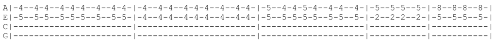 The Libertines Ukulele Tabs - Music When The Lights Go Out