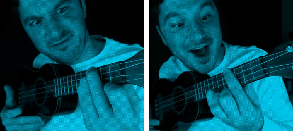 how to play the e chord ukulele