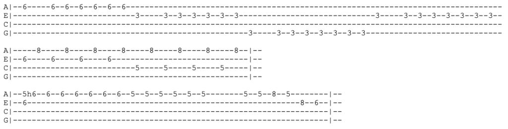 joy division - disorder - ukulele tabs