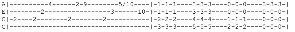 nirvana - lithium - ukulele tabs
