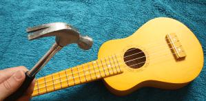 Hammer On ukulele