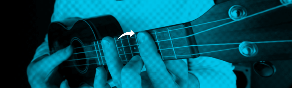 hammer on barre chord ukulele