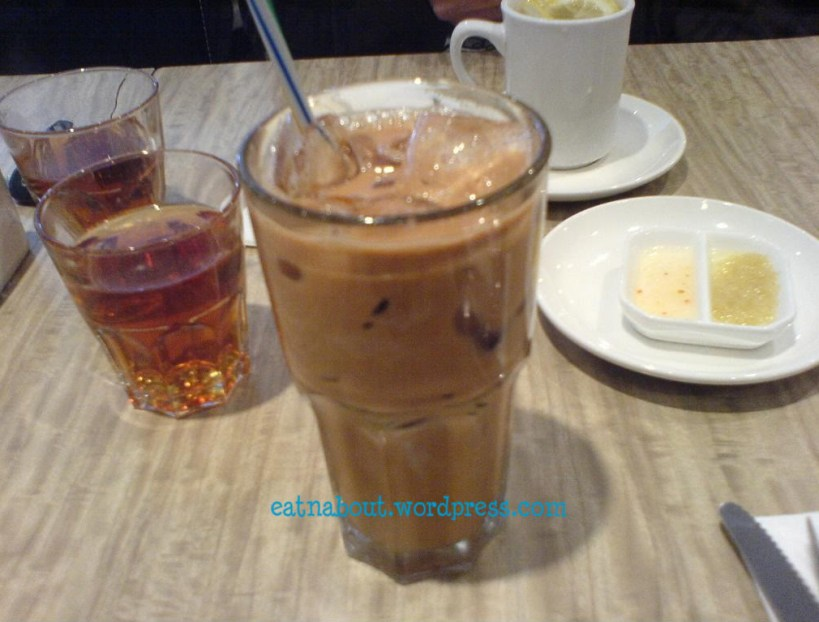 Sensus Bistro: Iced Milk Tea