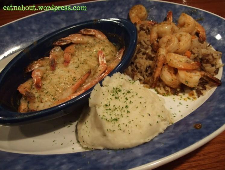 Red Lobster Lynnwood: Garlic Shrimp Scampi and Cajun Shrimp