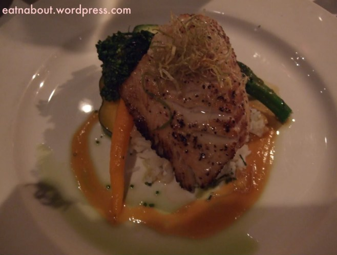 Seasons in the Park: Miso Soy Marinated Black Cod