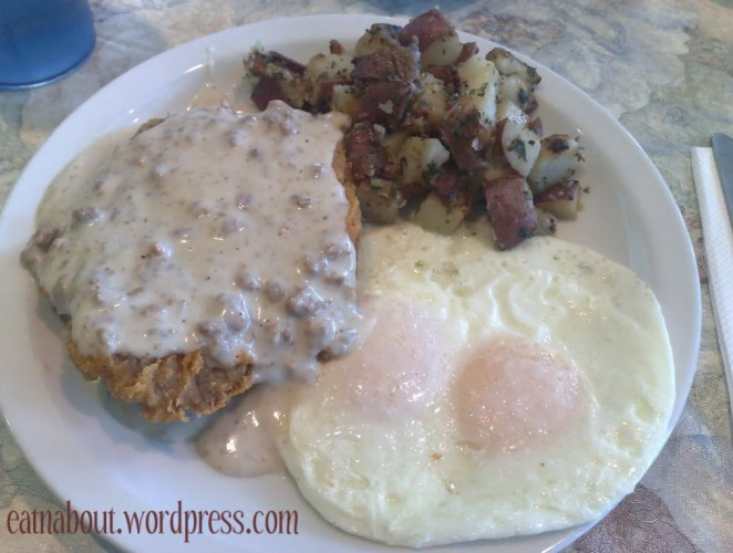 Tony's Pea Patch Cafe: Country Fried Steak