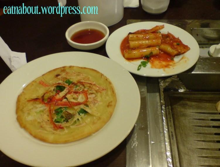 Kim Ga Nae: Seafood Pancake and Spicy Rice Cake