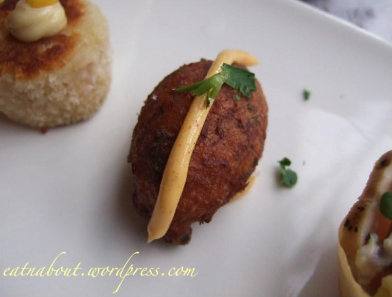 Regional Tasting Lounge: Bolhinos de Bacalhau canape
