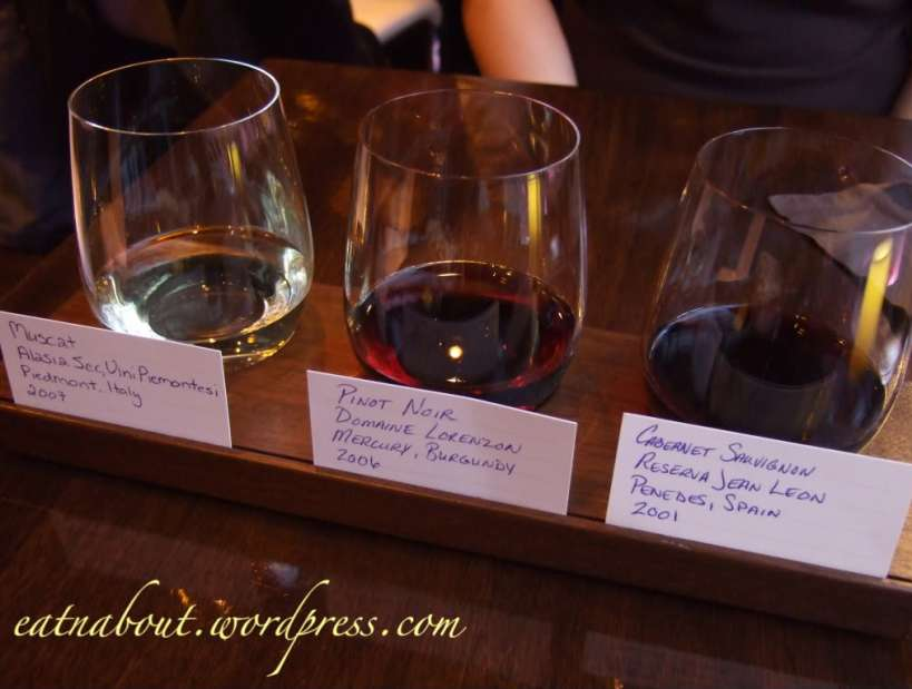 Regional Tasting Lounge: wine selection