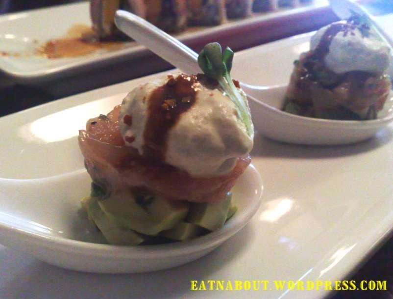 Nobusan Japanese Tapas-Bar: Tuna Avocado Tower