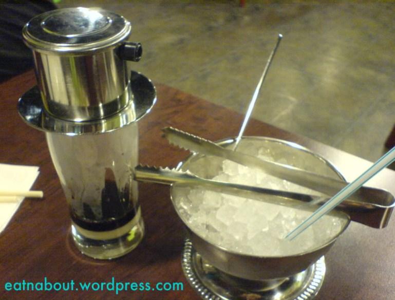 Halong Bay Vietnamese Restaurant: Vietnamese Iced Coffee