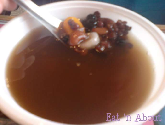 Bean Flower Burnaby: Red Bean Soup with taro rice balls