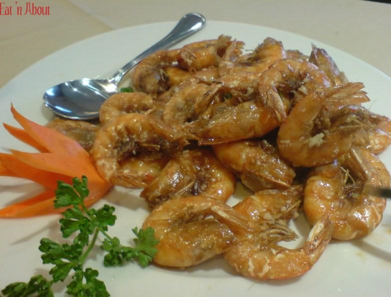 No.1 Shanghai Cuisine: Deep Fried Prawns with Rice Wine