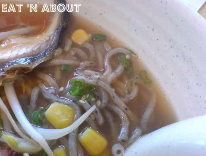 Ikkyu Ramen Ten: Ikkyu Black Sesame Ramen in shoyu soup