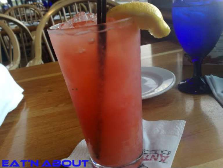 Anthony's Restaurant at Squalicum Harbor: Fresh Rhubarb and Northwest Strawberry Lemonade