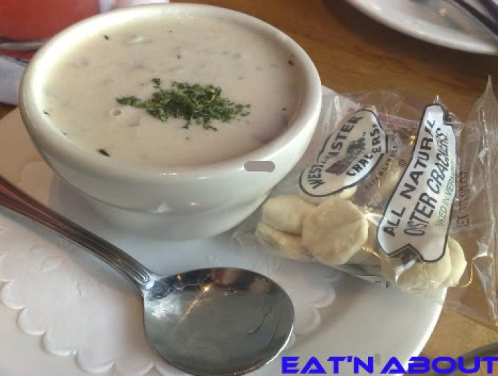 Anthony's Restaurant at Squalicum Harbor: Clam Chowder