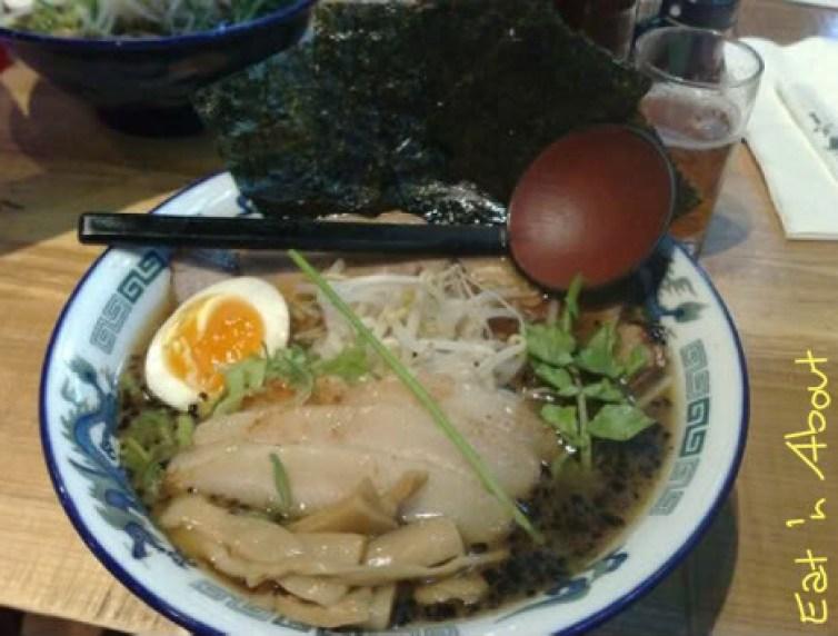 Motomachi Shokudo: Shoyu Ramen with extra BBQ pork