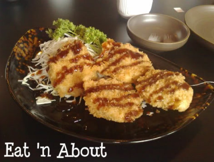 Soul Robata & Izakaya: Deep-fried Scallops