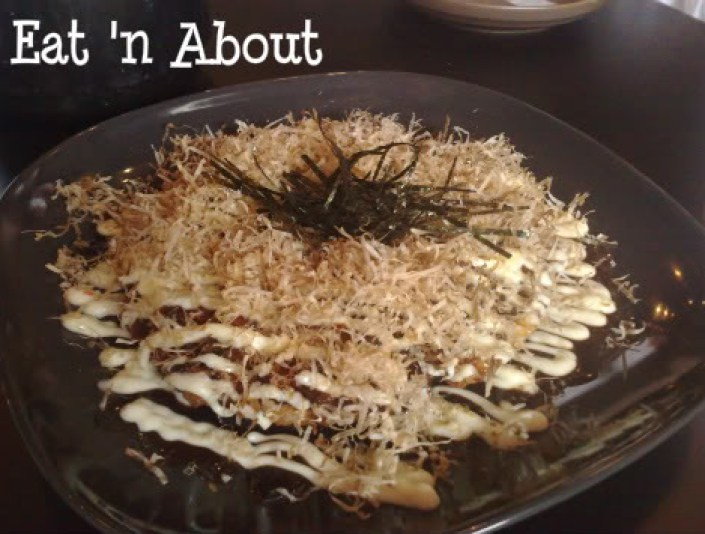Soul Robata & Izakaya: Seafood Okonomiyaki