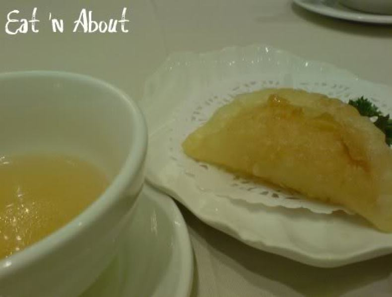 Red Star Seafood: Deep-fried Shrimp Dumpling with consomme