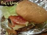 A&W Mozza Burger