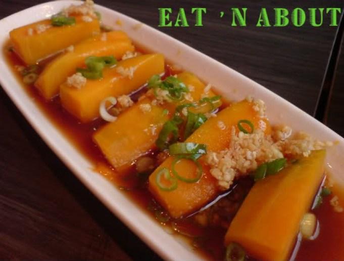Negative Space Chinese Restaurant: Garlic Steamed Pumpkin