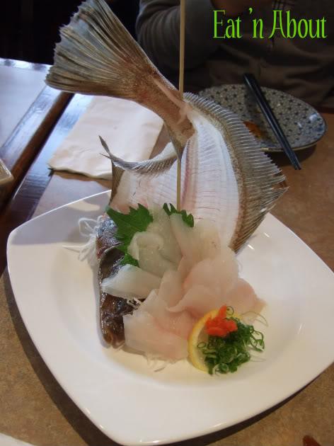 Ichiro Japanese Restaurant: Sole Sashimi