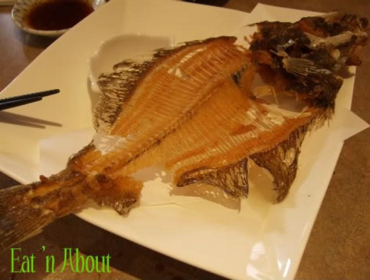 Ichiro Japanese Restaurant: Deep-fried sole bones