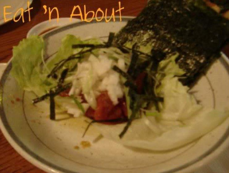The Clubhouse Restaurant: Salmon Tartar