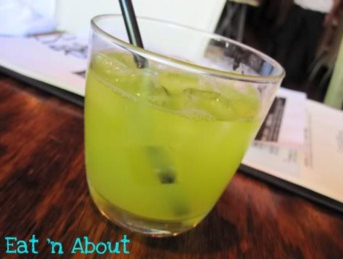 Toratatsu: Drunk Melon cocktail