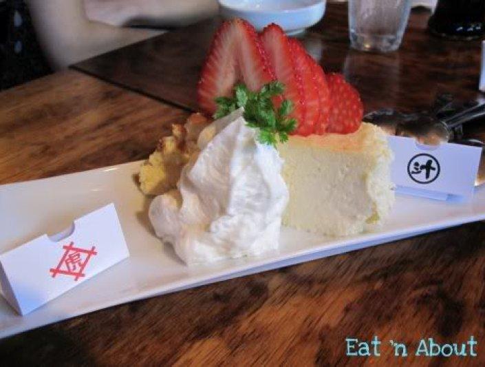 Toratatsu: White Chocolate Cheesecake