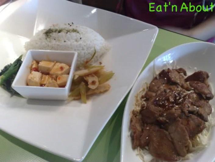 Chiffon Chinese Cuisine: Pork dish