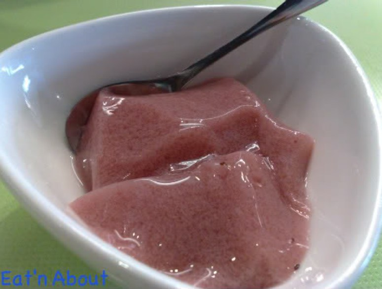Chiffon Chinese Cuisine: strawberry pudding