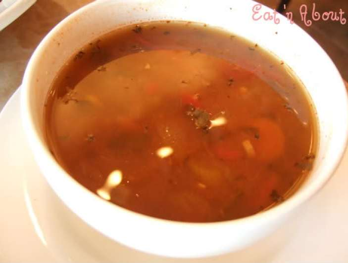 Cafe de Waraku: Garden Vegetable soup