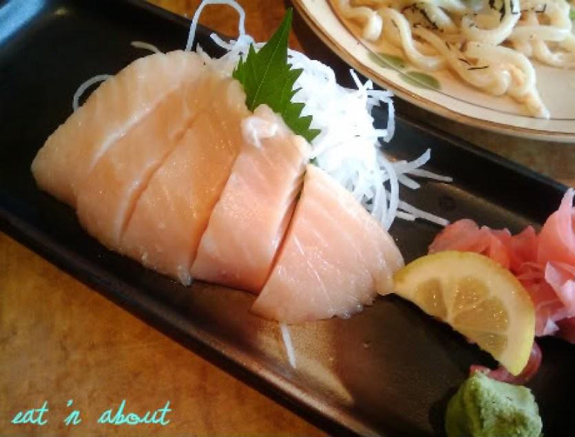 Sushi Garden: Toro sashimi