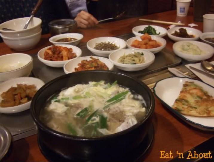 Ka Won Korean: Galbitang with banchan