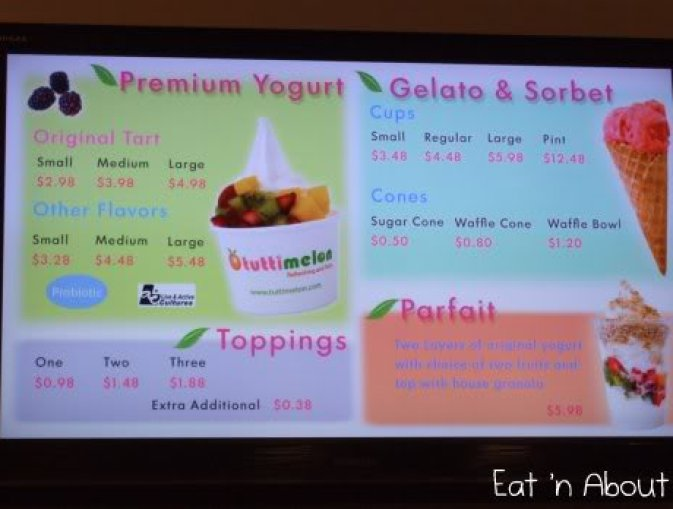 Tuttimelon Premium Frozen Yogurt